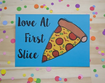Love At First Slice Print