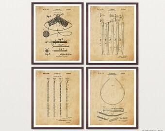 Knitting Patent Art - Knitting Poster - Knitting Decor - Knitting Needles - Yarn - Sewing Art - Sewing Poster - Knitting Decor - Sew - Knit