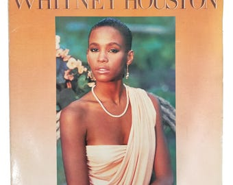 Whitney Houston - Self Titled Album LP Vinyl Original Release