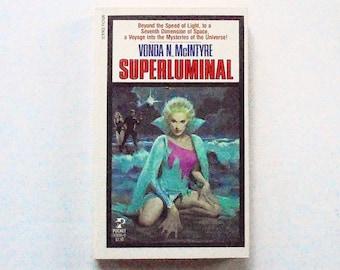 SUPERLUMINAL: Vonda N. McIntyre (1984, Pocket) Vintage Science Fiction