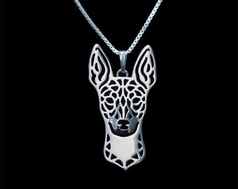 """Rat Terrier Pendant & Earrings Set - Silver Plated with 18"""" SP Chain"""