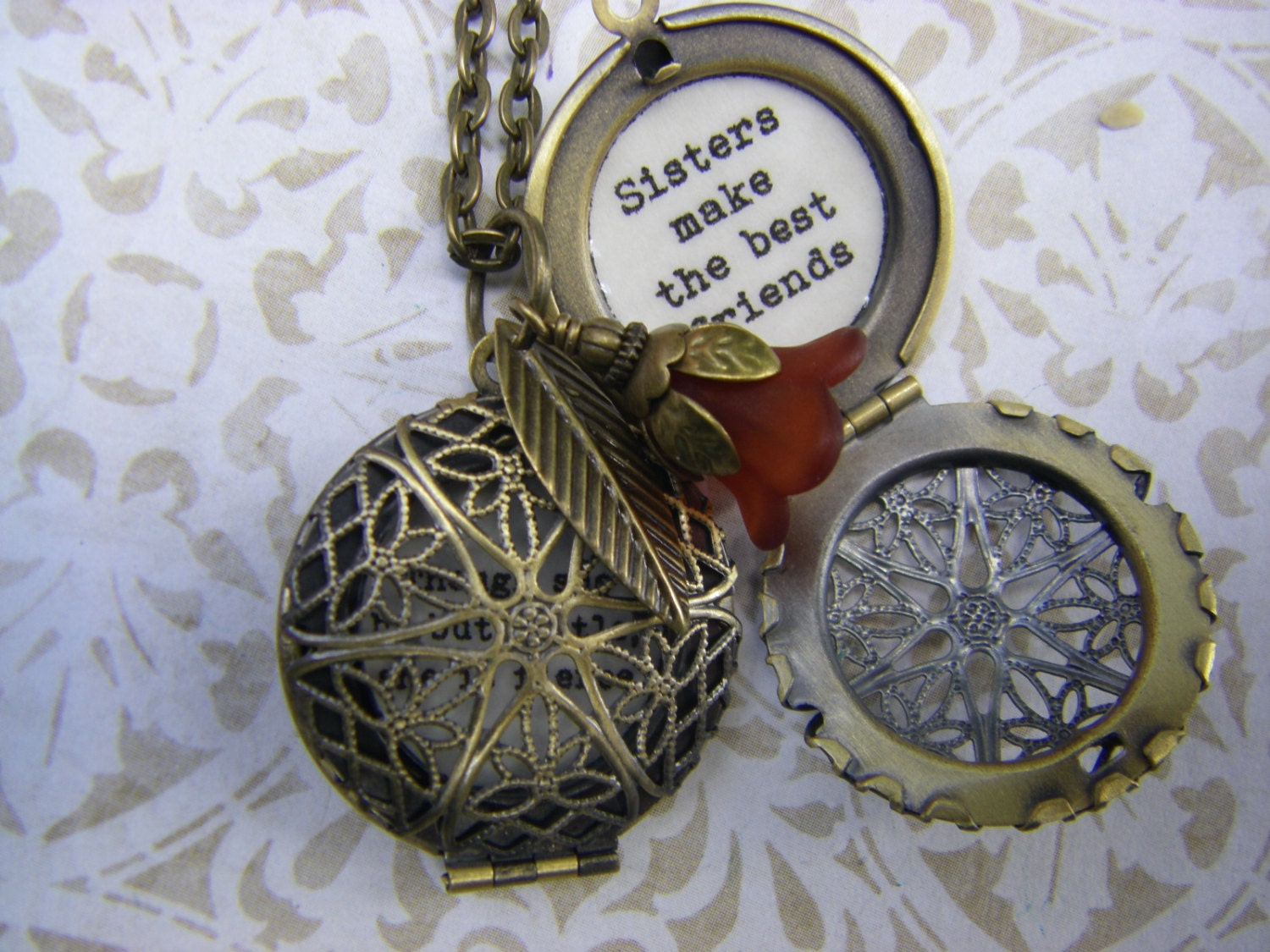 words locket lockets jewelry quote inspiring necklace friend sisters the we friends best pendant choose product are