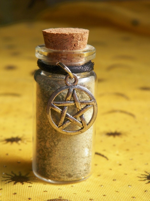 Protection Witch Bottle Hand Made Herbal Blend Ritual Supply