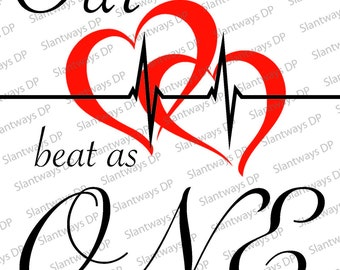 Our Hearts Beat As One - Design
