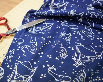 Stars of the Sea knit by the yard