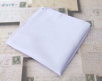 Pocket Square Solid Pale Lavender Hankie