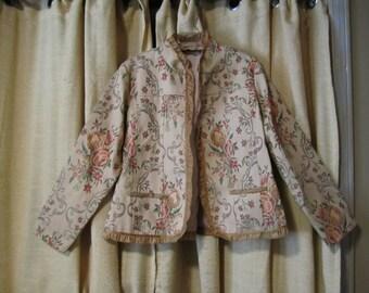 Gorgeous Brocade Jacket Vintage
