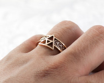 Triforce Ring Gold