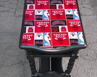 Chicago Bulls side table
