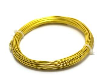 6 m 1.5 mm light gold aluminum wire