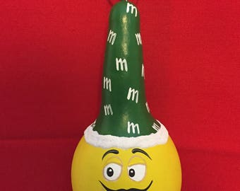 M&M - Mini Spoon Gourd - Yellow/Green