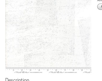 Zen Chic for Moda. Modern quilters cotton| Grey Text Fabric Fragile fabric range
