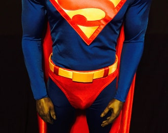 Dean Cain Style Superman Costume