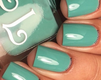 Mint Daisy by Lucky Lacquer, 5-Toxin Free Nail Polish