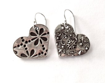 Mismatched Earrings - Perfect Anniversary Gift - priority shipping and gift wrapped Miss matched
