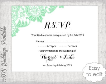 rsvp templates wedding rsvp templates in word 100 free rsvp