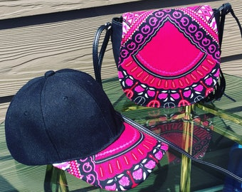 Dashiki Hat and Bag Set