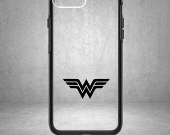 Wonder Woman Vinyl Decal, Wonder Woman Sticker, Wonder Woman Decal, Justice League Decal Sticker, Justice League, Phone Case, Wonder Woman
