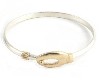 Cape Cod Lobster Claw Bracelet Sterling Silver 925- Rhodium Gold