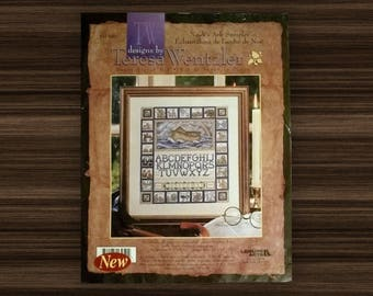 Noah's Ark Sampler - Counted Cross Stitch Kit - by Teresa Wentzler - Cross Stitch Kit - 11x14 - Leisure Arts #113950