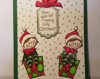 Elves Christmas Cards