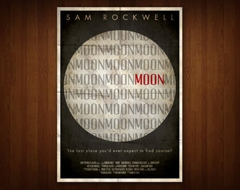 Moon Poster (Multiple Sizes)