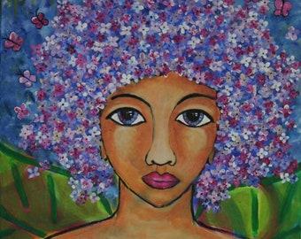 Divine Feminine Print- Lilac Fairy