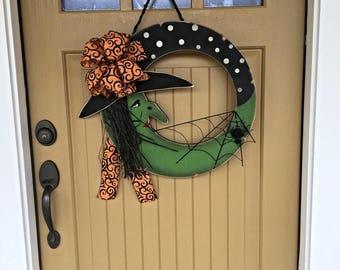 Halloween Witch Door Hanging