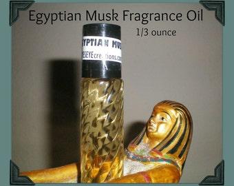 Egyptian Musk Fragrance Body Oil 1/3 ounce (oz)