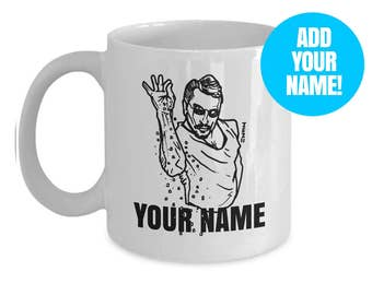 Salt Bae meme Mug - Custom/personalized Name Saltbae guy gift cup - Add Your Name!