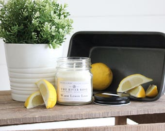Warm Lemon Loaf | 100% Natural Soy Candle | Hand-Poured