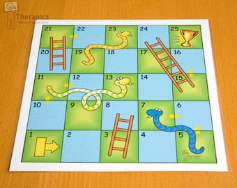 Therapics Snakes and Ladders - digital download