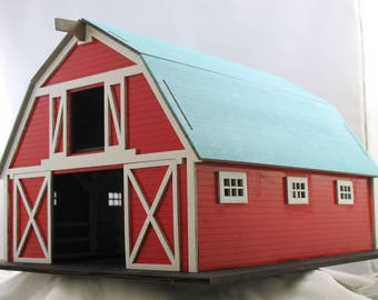 Bird House Kit Barn with Stables