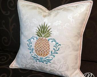 Throw Cushion - Pineapple