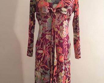 1940 beautiful floral dress