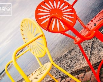 Terrace Twins // 5x7 Madison Wisconsin Photography // Colorful Home Decor
