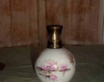 A berger lamp vintage Tharaud Limoges porcelain