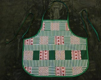 Handmade Quilted Kitchen Apron
