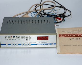 """Multifunctional television test device """"Laspi TT-01"""" Made in USSR"""