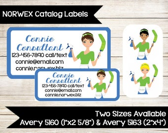 NORWEX   Catalog Labels   Stickers   Catalog Label   Order Form Label   Contact Card   Custom   Loopsy Daisy   Print at Home
