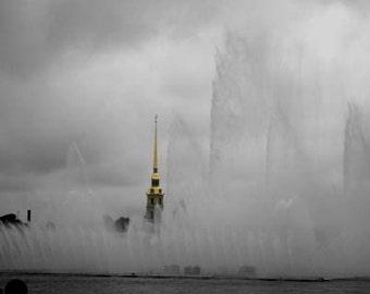 Neva Fountains - Original Signed Fine Art Photograph
