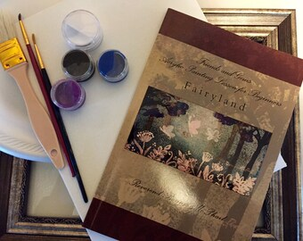 DIY Canvas Painting Kit for All Ages - Fairyland - Frame Included