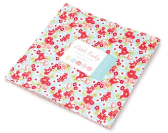 Little Ruby cotton layer cake by Bonnie and Camille for Moda fabric