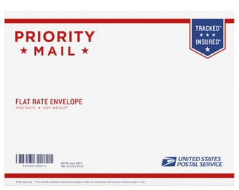 Flat rate envelope upgrade