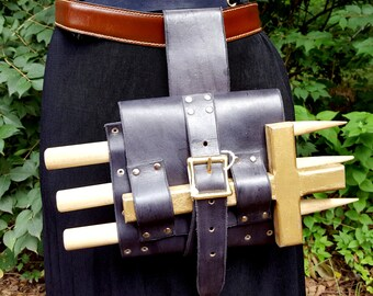 Vampire Hunter Tool Roll - Belt Pouch Vampire Hunter Kit