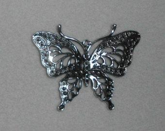 Silver Butterfly Pendant