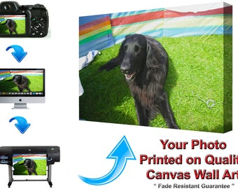 Personalised Canvas Print Photo To Canvas Custom Canvas Print Canvas Art Print