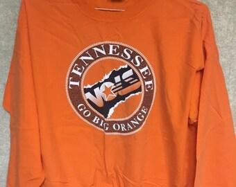 Vintage University of Tennessee Volunteers UT Pullover Jacket Size Medium