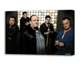 The Sopranos - Mounted Canvas
