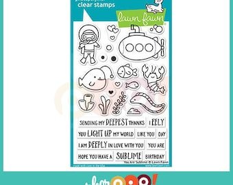 Lawn Fawn Clear Stamp Set - You Are Sublime